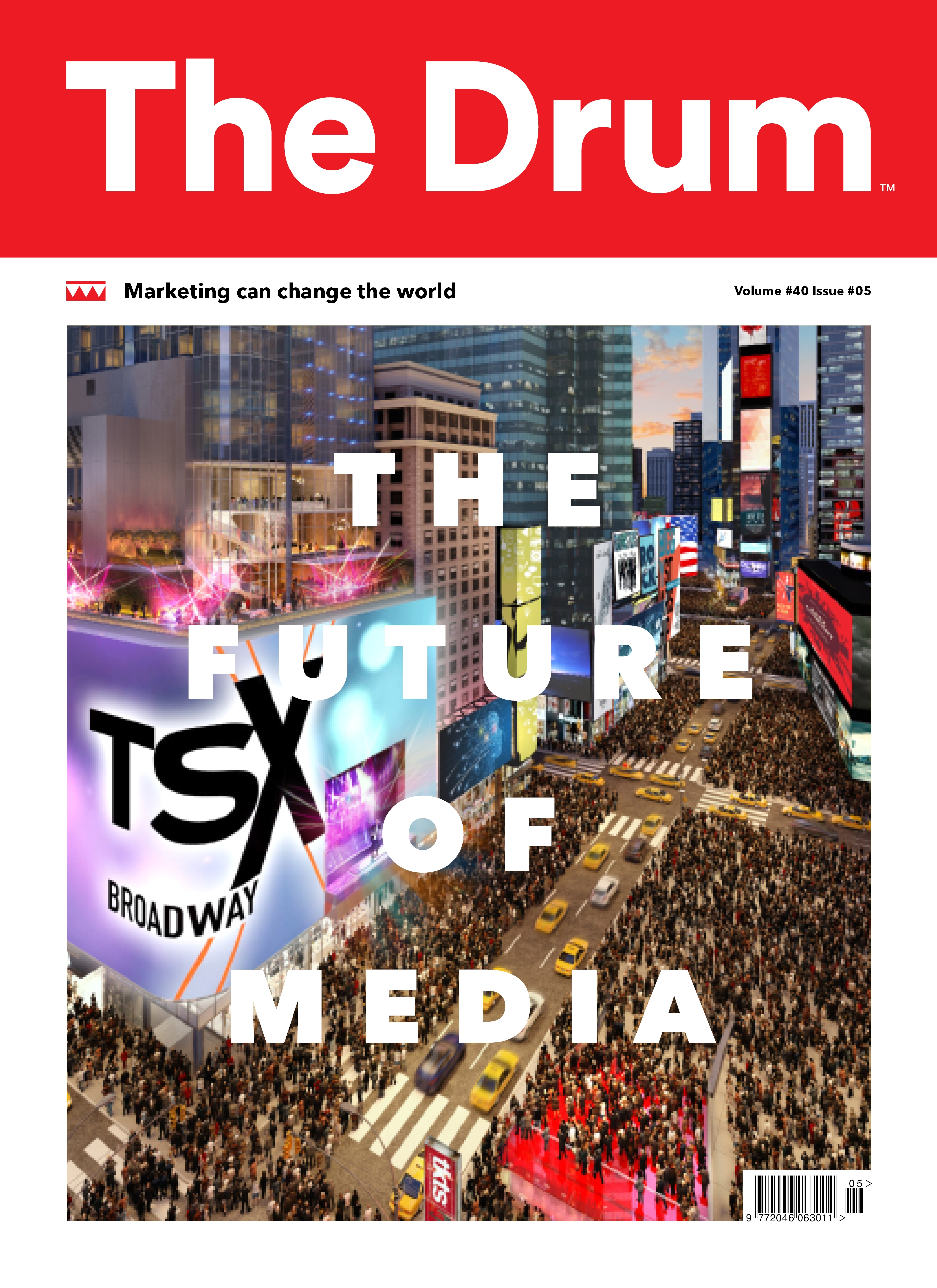 The Future of TV issue | Single Issues | The Drum Magazine | The Drum